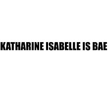 Katharine Isabelle is Bae by Markcula