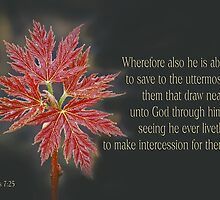 To the Uttermost ~ Hebrews 7:25 by Robin Clifton