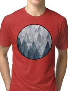 Clear Winter Tri-blend T-Shirt