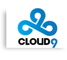 CLOUD 9 GAMING Canvas Print