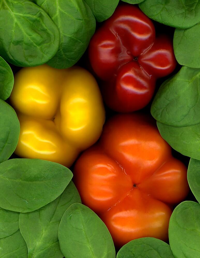 Peppered Spinach by Marsha Tudor