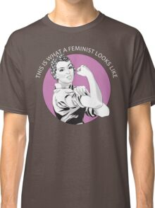 This Is What A Feminist Looks Like Geraldine Doyle T Shirt Classic T-Shirt