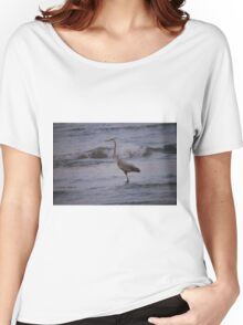 Great Blue Heron Women's Relaxed Fit T-Shirt