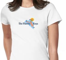 The Florida Keys. Womens Fitted T-Shirt