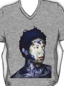 Warhol Polaroid Earth Basquiat Africa Europe King Of the World T-Shirt
