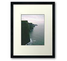 Cliffs of Moher in Ireland Framed Print