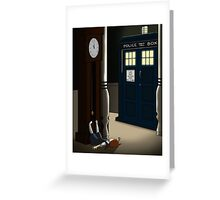 Do You Want To Meet a Time Lord? Greeting Card