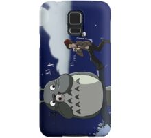 Totoro and the Doctor's Midnight Musicale Samsung Galaxy Case/Skin