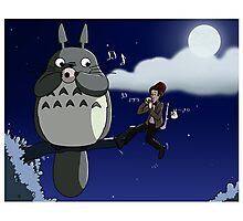 Totoro and the Doctor's Midnight Musicale Photographic Print