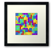 Tetra Framed Print