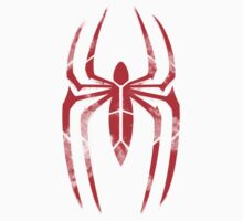 Spider-Man Segmented Logo (Red on Black) Kids Clothes
