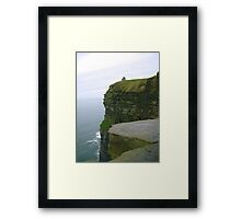 O'Brien's Tower at Cliffs of Moher Framed Print