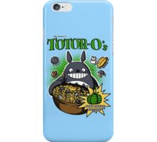 Totoro's Cereal iPhone Case/Skin