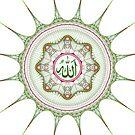 Islamic Art - Islamic Fractal Art - Fraktaligrafi #01 by Adi Nugroho