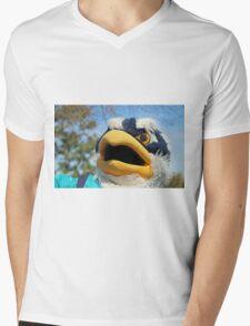 Sammy The Seahawk Mens V-Neck T-Shirt