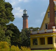 Currituck Lighthouse by Andreas Mueller