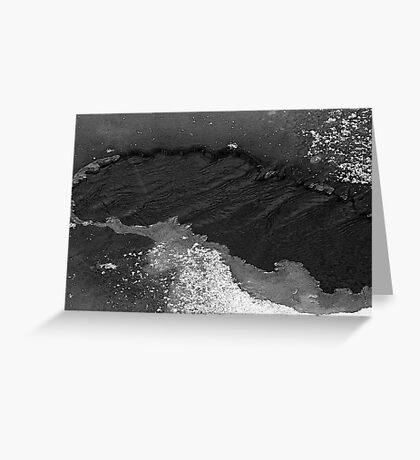 Hole in the ice Greeting Card