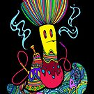 Hooka & Mushroom by Octavio Velazquez