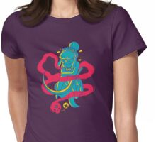 Ghostly Whisper Womens Fitted T-Shirt
