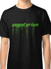 Vegetarian (green)... Classic T-Shirt