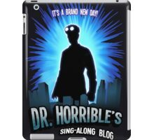Dr. Horribles sing-along blog  iPad Case/Skin