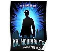 Dr. Horribles sing-along blog  Poster