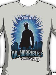 Dr. Horribles sing-along blog  T-Shirt