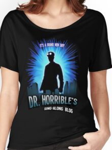 Dr. Horribles sing-along blog  Women's Relaxed Fit T-Shirt