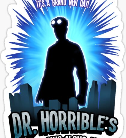 Dr. Horribles sing-along blog  Sticker