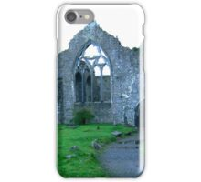 Dominican Priory in Athenry, Ireland iPhone Case/Skin