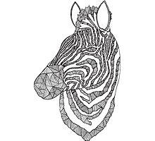 Zebra Ink Photographic Print