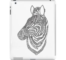 Zebra Ink iPad Case/Skin