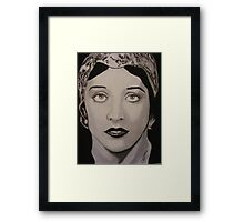 Adorned Grace by artist ©Cindy Williams Framed Print