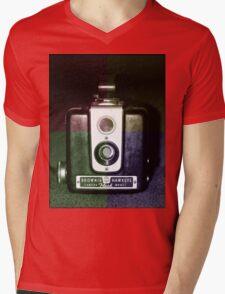 Colorful Brownie Hawkeye Mens V-Neck T-Shirt