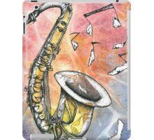 Saxophone Notes iPad Case/Skin