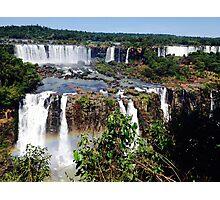 Iguazu Falls in Love Photographic Print