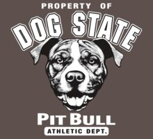 Dog State Pit Bull by doggination