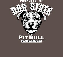 Dog State Pit Bull Unisex T-Shirt
