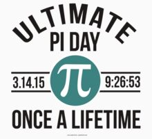 Ultimate Pi Day 2015 Aqua by Albany Retro