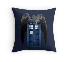 Weeping For The Doctor Throw Pillow