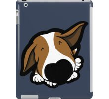 Big Nose Bull Terrier Puppy iPad Case/Skin
