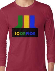 SCORPION (atari style)  Long Sleeve T-Shirt