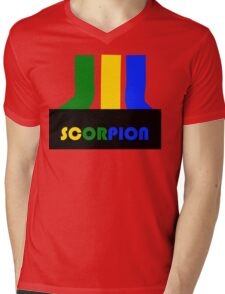SCORPION (atari style)  Mens V-Neck T-Shirt