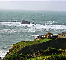 The Lizard Point Cornwall by Malcolm Chant