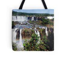 Iguazu Falls in Love Tote Bag