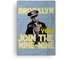 The Captain Needs You Canvas Print