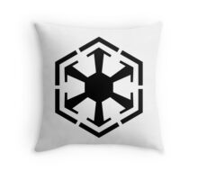 Imperial Crest Throw Pillow