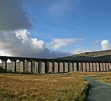 Ribblehead Viaduct, Yorkshire by jdphotos