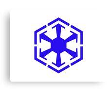 Imperial Crest Blue Canvas Print