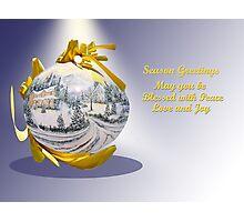 Season Greetings Photographic Print